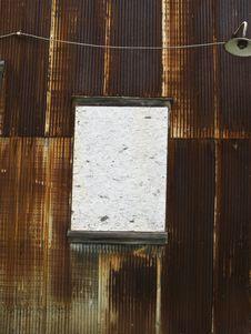 Free Rusty Metal Siding Stock Image - 6099621