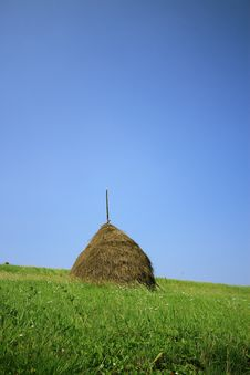 Free Haystack Royalty Free Stock Photography - 6099747