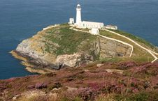 Free South Stack Lighthouse Royalty Free Stock Image - 6099846