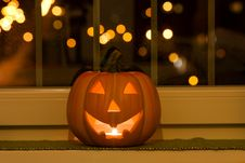 Free Halloween Pumpkins Stock Images - 60953654