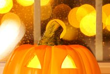 Free Halloween Pumpkins Royalty Free Stock Photo - 60958035