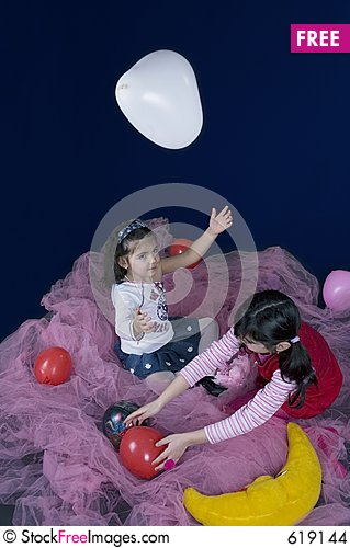 Free Playing In The Fairy Land Stock Images - 619144