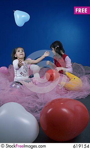 Free Playing In The Fairy Land Stock Images - 619154