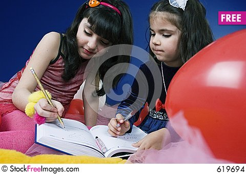 Free Writing In An Agenda Stock Images - 619694
