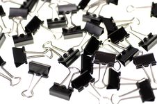 Free Binder Clips Stock Photo - 610010