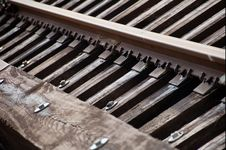 Free Trolley Track Royalty Free Stock Photo - 610955