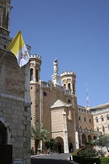 Free Notre Dame, French Hospice,Jerusalem Stock Photos - 611333