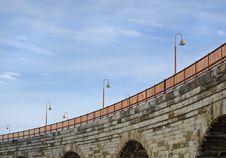 Free Lamps, Sky And Bridge - Horizontal Stock Photos - 611793