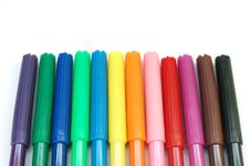 Free Markers 2 Royalty Free Stock Photos - 612068