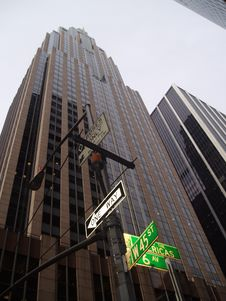 Free Skyscraper In NY Stock Image - 612371