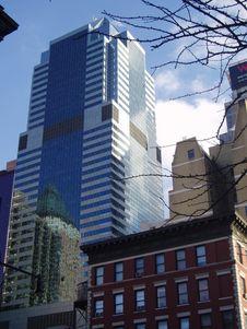 Free Skyscraper In NY Stock Photography - 612372