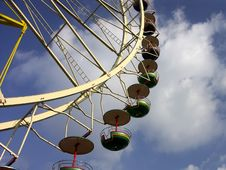 Free Ferris Wheel Will Take You To Heaven Royalty Free Stock Image - 613426