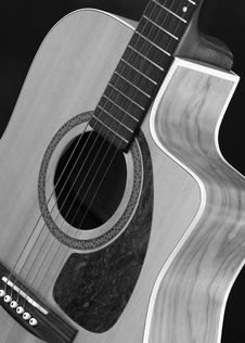 Free Traditional Acoustic Guitar Stock Photos - 613613