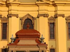 Catholic Dome Detail 1 - Timisoara, Romania Stock Images