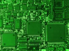 Free Circuit Board Royalty Free Stock Photography - 614797