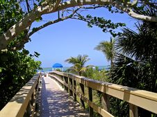 Beach Walkway Stock Photos