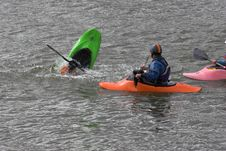 Free Kayak Training Royalty Free Stock Images - 615319