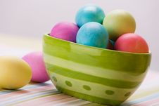 Free Easter Stripes Royalty Free Stock Photo - 615635