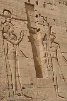 Free Egyptian Gods Royalty Free Stock Photography - 615937