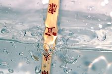 Free Water Blast Stock Photography - 616062