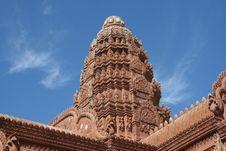 Cambodian Wat Royalty Free Stock Photo