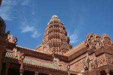 Cambodian Wat Royalty Free Stock Photos