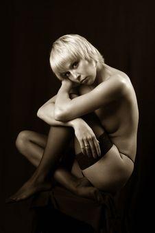 Free Nudu Women Royalty Free Stock Photo - 617165