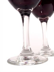 Free Red Wine Bottom View Stock Photography - 618002