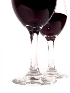 Free Wine Glasses Duet Stock Photos - 618003