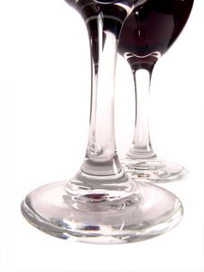 Free Wine Glasses Close-up Stock Images - 618004