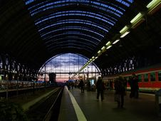Free Railway Station Stock Image - 618411