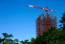 Free Crane Outside Stock Image - 618631