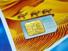 Free Sim Card Stock Photography - 619462