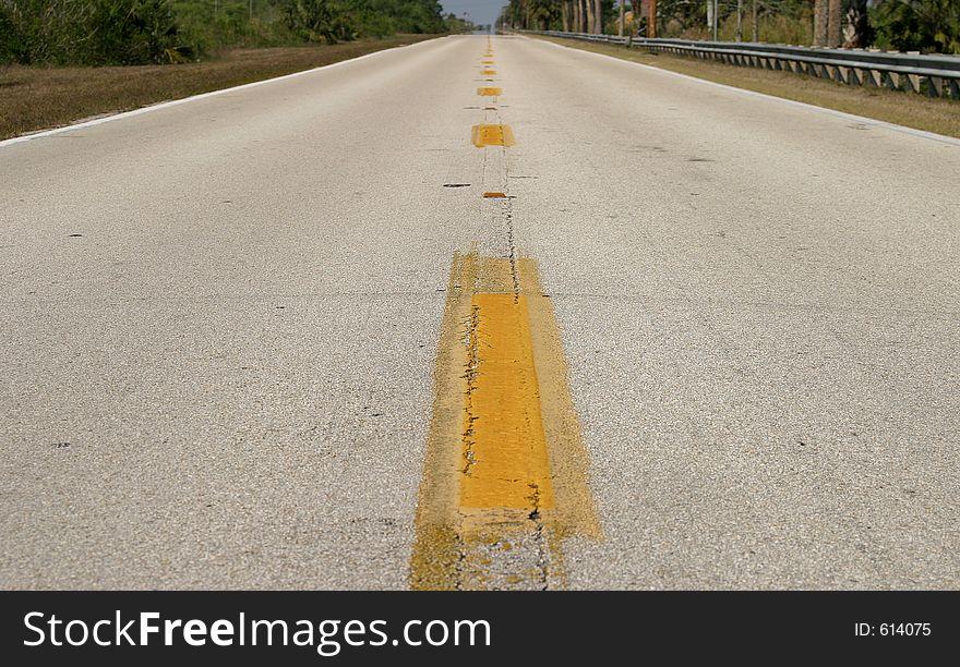 Open Road - Horizontal format