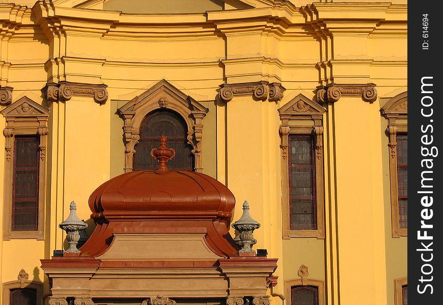 Catholic Dome detail 1 - Timisoara, Romania
