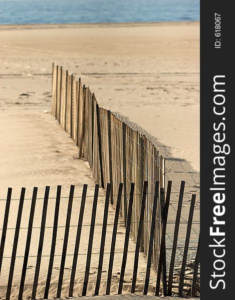 Beached Fence