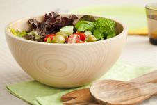 Free Side Salad Stock Photos - 6100163