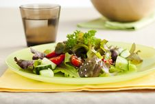 Free Side Salad Royalty Free Stock Image - 6100166