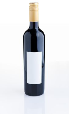 Free Red Wine Bottle Stock Photography - 6100232