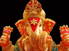 Free Beautiful Lord Ganesha Stock Photo - 6100400