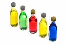 Free Bright Bottles Stock Photography - 6100502