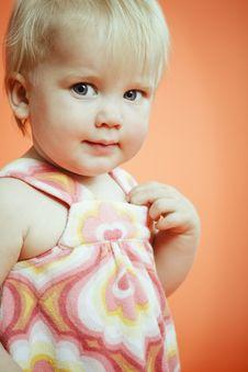 Free Small Girl Portrait Stock Photos - 6100563