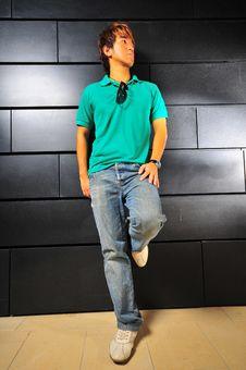 Free Casual Asian Guy 2 Stock Photo - 6100710
