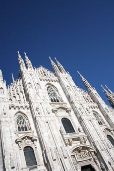 Free Cathedral Milano Royalty Free Stock Image - 6100916