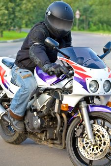 Free Biker Stock Photography - 6101142