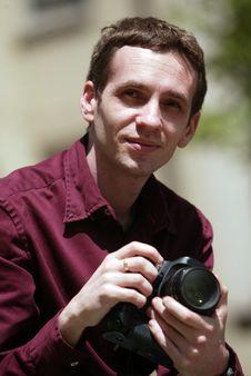 Free Photographer Stock Image - 6102181