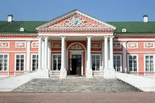 Free Fragment Of An Imperial Palace In Manor Sheremetev Stock Photos - 6102193