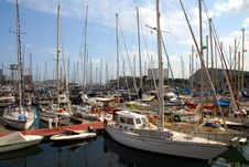 Free Port Of Barcelona Stock Photography - 6103402