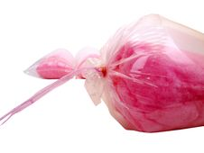 Free One Bag Candy Floss Front Stock Image - 6103431