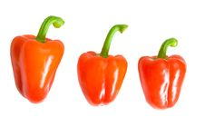 Free Three Sweet Peppers Stock Images - 6103464